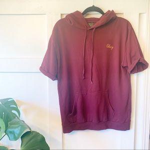 OBEY Short Sleeve Sweatshirt M